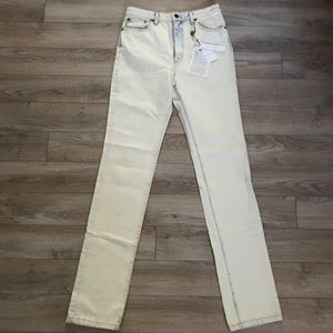 Marc Jacobs Bleached Jeans ~ W/ Tags